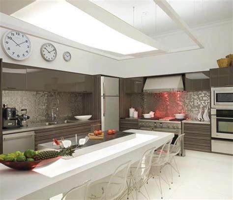 cocinas modernas  isla central