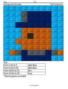 decimal computations  images  grade math