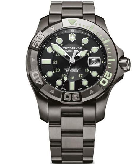 swiss army silver black victorinox swiss army 241429 dive master 500 black