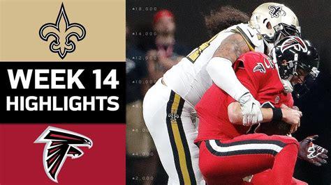 saints  falcons nfl week  game highlights youtube