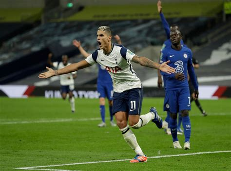 Tottenham knock Chelsea out of Carabao Cup after Mason ...