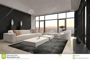 salon moderne impressionnant de grenier interieur d With architecture d interieur moderne