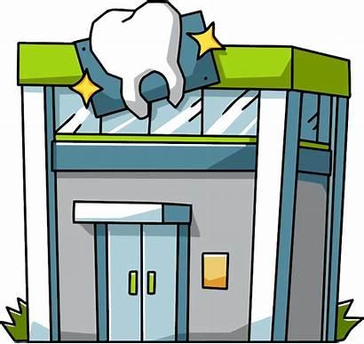 Dentist Office Dental Clipart Clip Clinic Cartoon