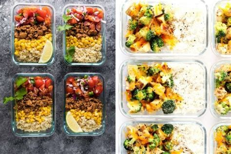 delicious meal prep recipes  healthy lunches style