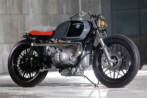 Well Red. A Brilliant Bmw R100 Bobber From Heiwa