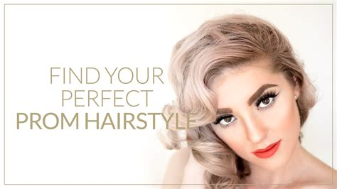Find Your Perfect Prom Hairstyle!