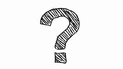 Question Mark Drawn Background Drawing Hand Doodle