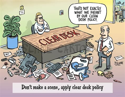 sle clean desk policy slane cleared desk policy