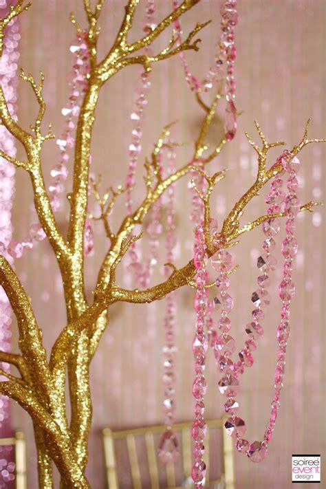 Trend Alert Rustic Glam Pink & Gold Wedding Soiree