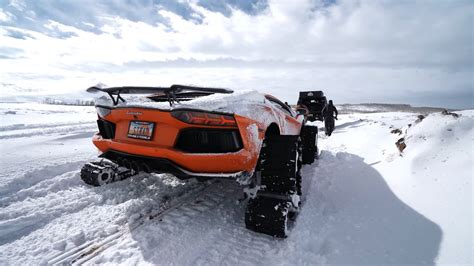 The heritage of the bugatti brand is celebrated through top quality materials and great attention to detail. Lamborghini on Snow Tracks Is a World First, Also a Bad Idea - autoevolution