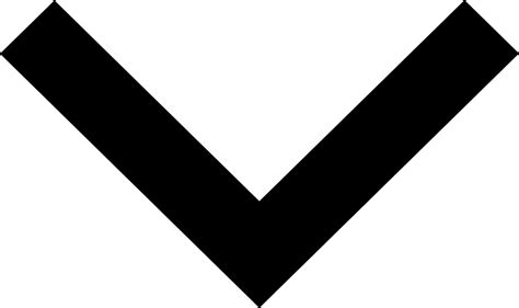Drop Down Arrow Svg Png Icon Free Download (#144754