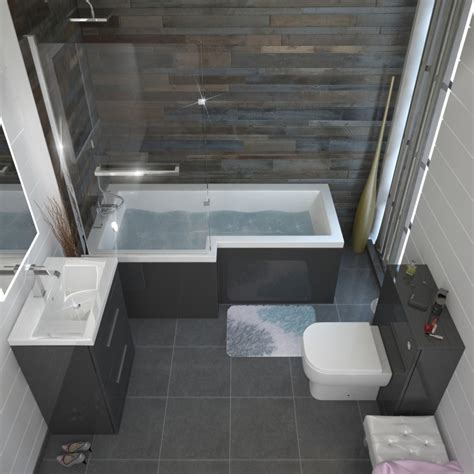small tiled bathrooms ideas patello grey shower bath suite buy at bathroom city