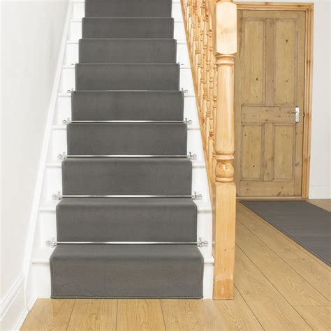 carpet runners for stairs home depot stair runner rugs how to attach stair runners