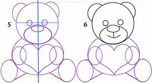 How To Draw A Teddy Bear Face