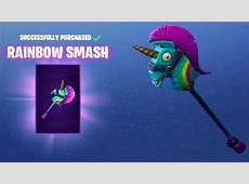 New Pickaxe Completes Fortnite's Sunshine and Rainbows Set