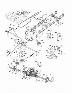 Husqvarna Lgt2654 Mower Deck Belt Diagram
