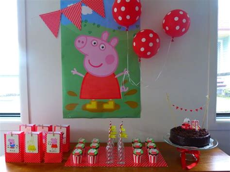peppa pig birthday ideas birthdays 4th birthday
