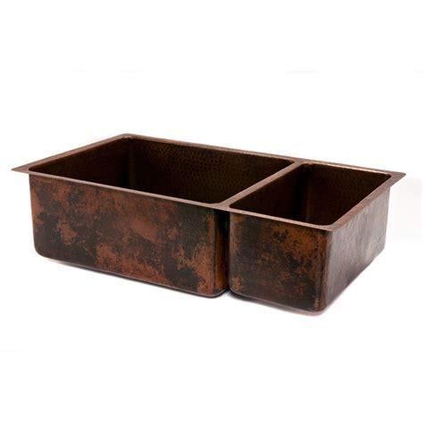 3 basin kitchen sinks 33 copper hammered kitchen 75 25 basin sink 3851
