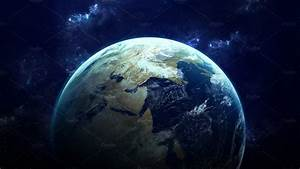 High Resolution Planet Earth view. The World Globe from ...