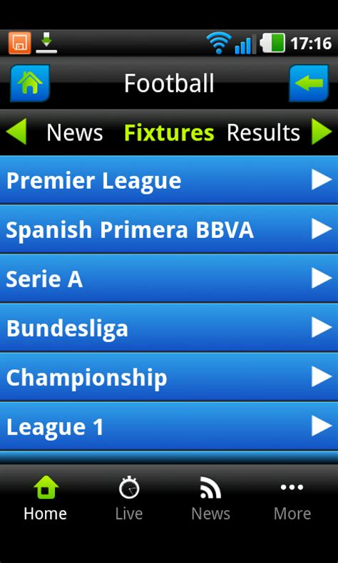 sport  scores news amazoncouk appstore  android