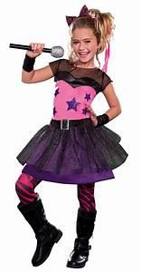 Girl's 80's Rock Star Sweetie Costume - Kids' 80s Costumes ...