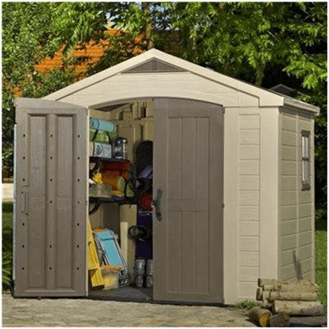 Keter Storage Shed 8x6 by The Keter Plastic Shed What Shed