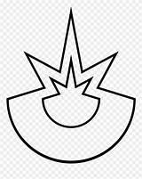 Explosion Coloring Clipart Desene Pinclipart sketch template