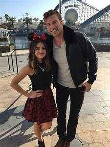 Lucy Hale and Derek Theler