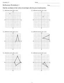 Reflection Worksheet Reflections Worksheet1student