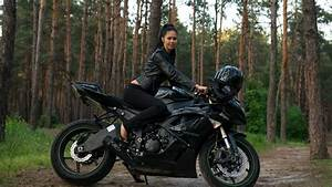 Hot And Sexy Girls On Stylish Bike Hd Wallpaper Images