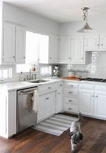 we did it our kitchen remodel easy diy projects and With images of kitchens with white cabinets