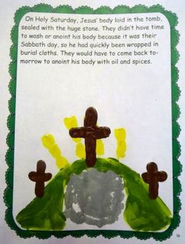 holy week  handprints  catholic icing printables tpt