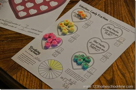 valentines candy box math free printable game