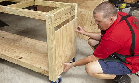 diy portable workbench bunnings warehouse