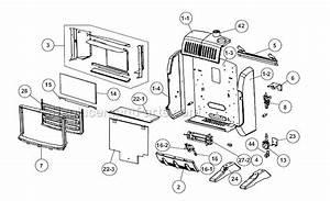Mr  Heater Mhbf10ng Parts List And Diagram