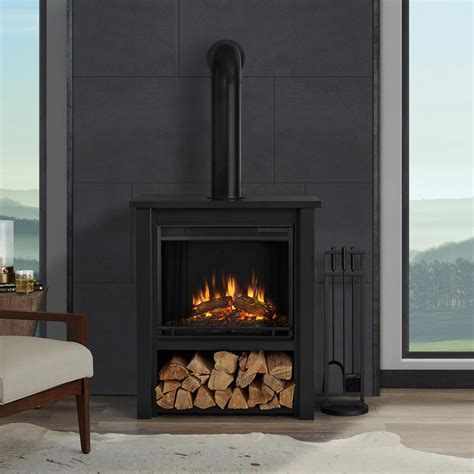 Black Fireplace - real maxwell 58 in grand series electric fireplace