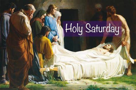 living lent holy saturday socials catholic