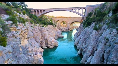 le pont du diable herault drone mavic pro  youtube