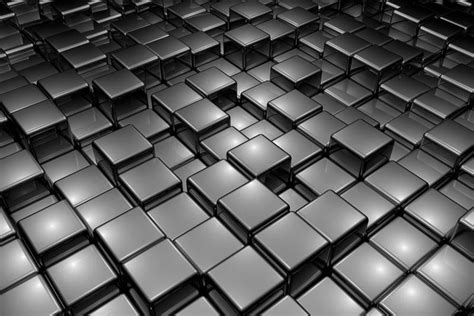 abstract black cubes  wallpaper  walls walls  murals