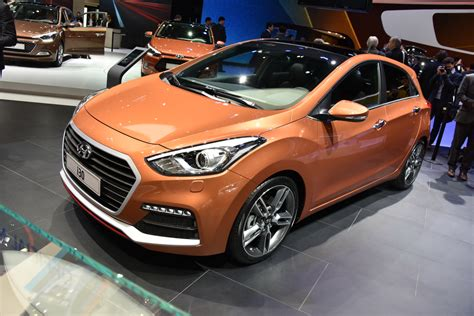 Facelifted Hyundai I30 Shows Its Face 183hp Turbo Petrol