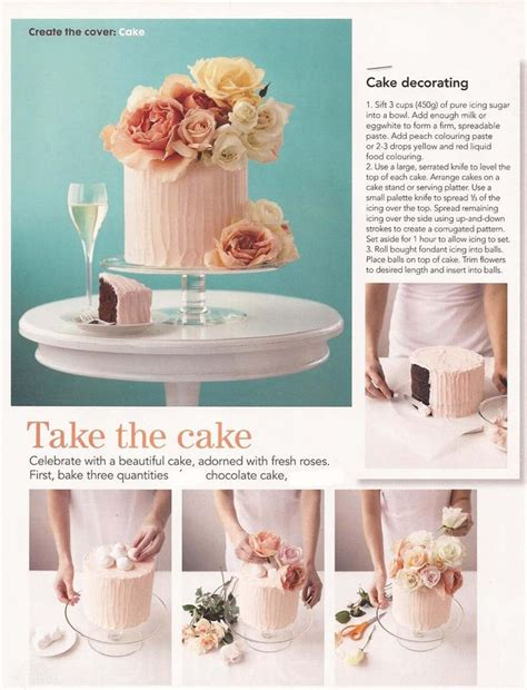 Cake Decorating With Real Flowers - cake decorating with real flowers wedding cakes
