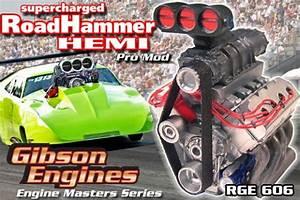 Roadhammer Supercharged Hemi Pro Mod Drag Engine  Master