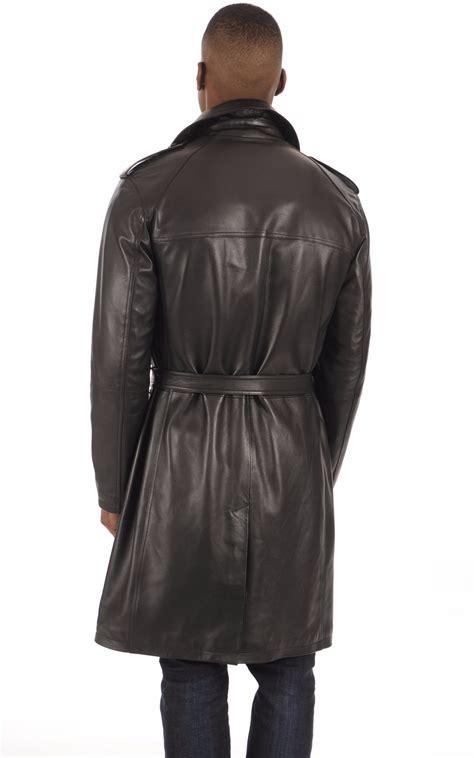 Avec ce trench noir en coton, the kooples réaffirme son goût pour les classiques revisités. Trench Cuir Agneau Noir Homme La Canadienne - La ...