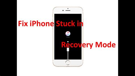 iphone stuck in recovery mode fix iphone recovery mode how to fix iphone stuck in
