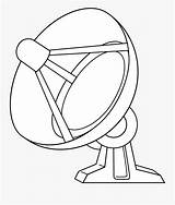Satellite Drawing Dish Clipartkey sketch template