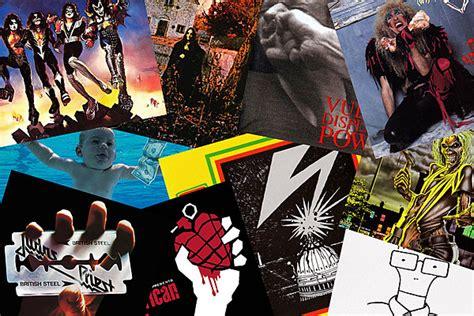 iconic hard rock metal album covers