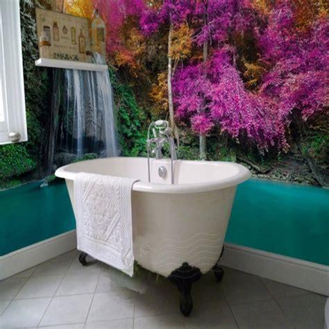 special modern design waterfall scenery waterproof