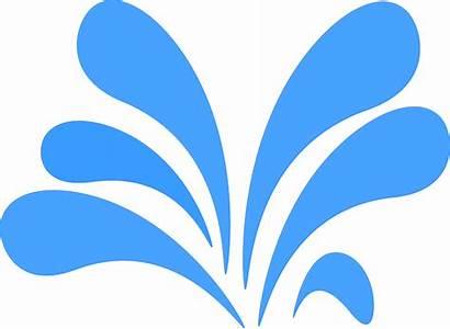 Splash Water Graphic Fountain Clipart Vector Pixabay