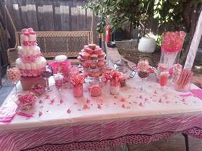 Baby Shower Candy Buffet Table