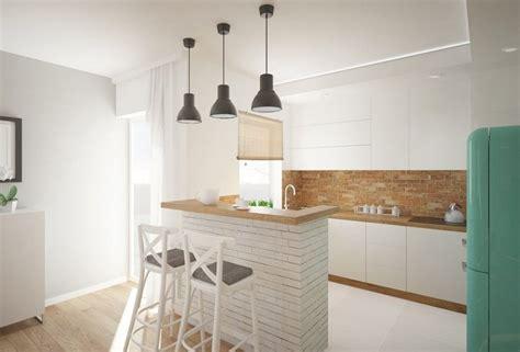 credence cuisine stratifié plan de travail cuisine 50 idées de matériaux et couleurs